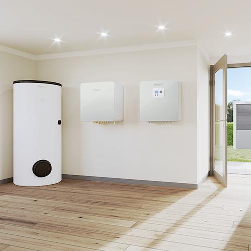 Wärmepumpen bieten neben tollem Design modernste Technologie